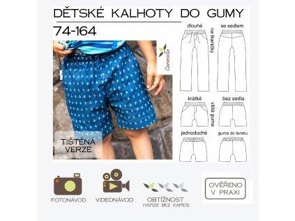 kalhoty do gumy