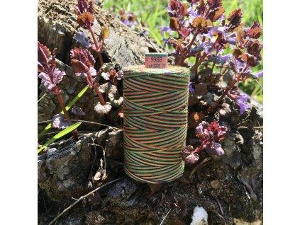 niť návin 1000 m duhová barvy podzimu - sabaC multicolor Amann