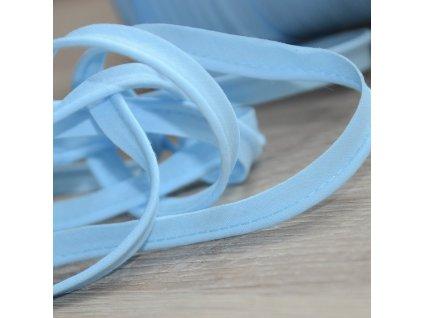 0,5 m paspule světle modrá 10 mm (bavlna)