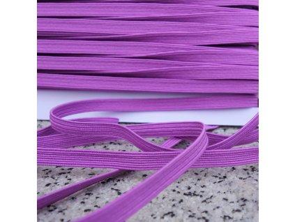 0,5 m prádlová pruženka fialová 6 mm