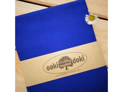 bavlna balíček 50x70 cm královská modrá