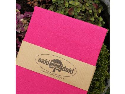 bavlna balíček 50x70 cm sytě růžová