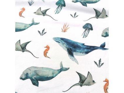 """úplet """"podmořský svět"""" od Family Fabrics"""