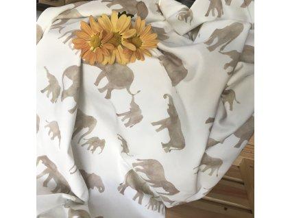 "úplet ""sloni"" od Family Fabrics"