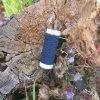 pružná niť na žabičkování tmavě modrá - Elasticfaden 10 m