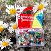Napichovací špendlíky plastová hlava, mix barev, Koh-i-Noor, 100ks