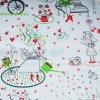 bavlněné plátno Secret garden od Inkalily