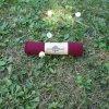 náplet jemný 15 x 70 cm temně vínový
