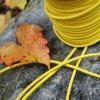 0,5 m kulatá pruženka žlutá 3 mm