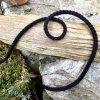 0,5 m bavlněná tkanice černá 5 mm
