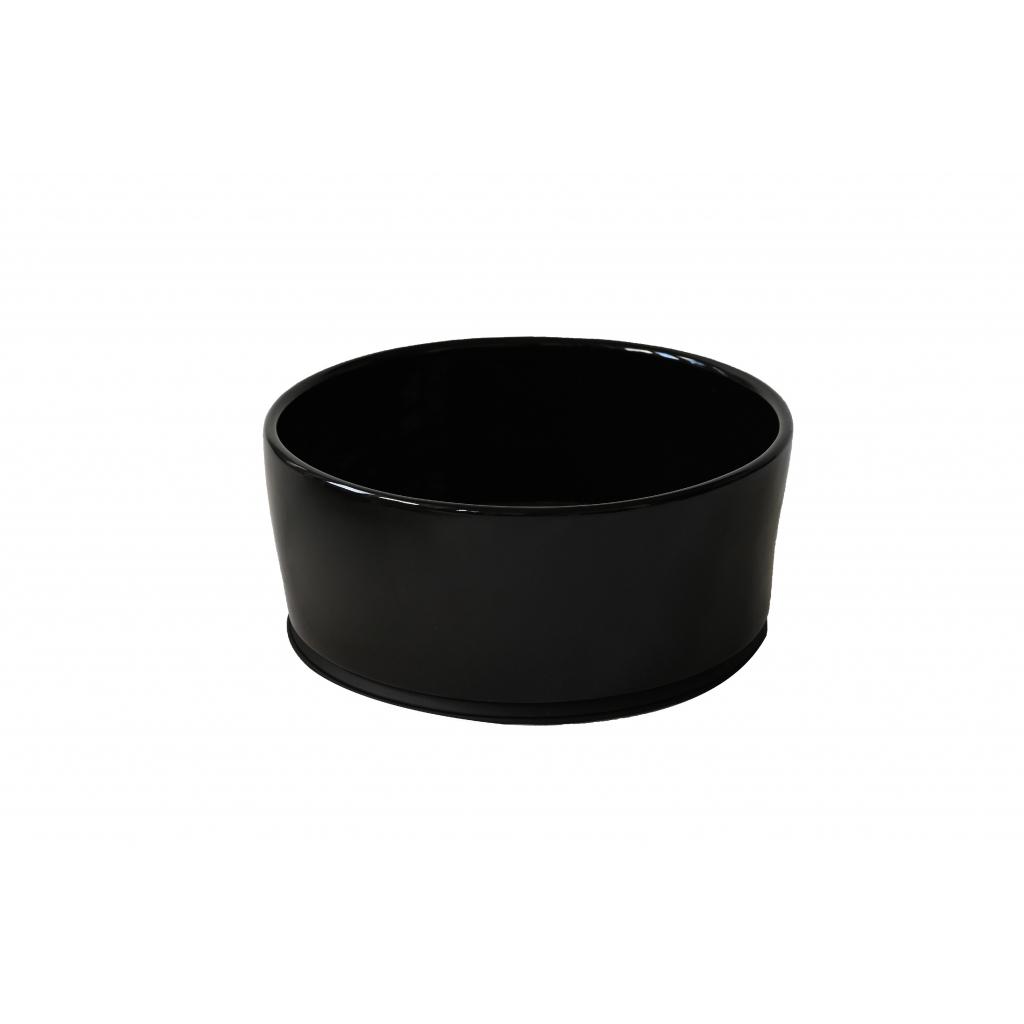 Černá keramická miska