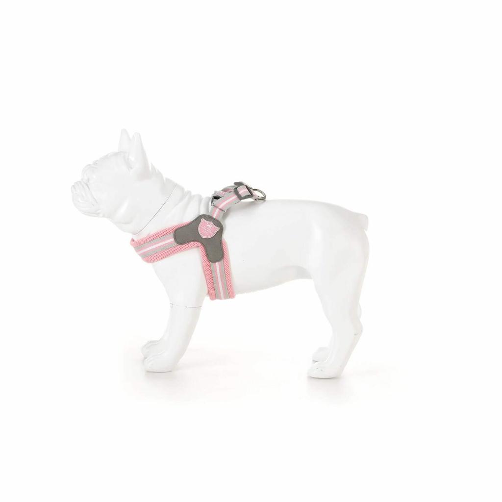 Postroj pro psy Růžový