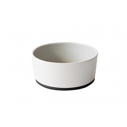 Bílá keramická miska