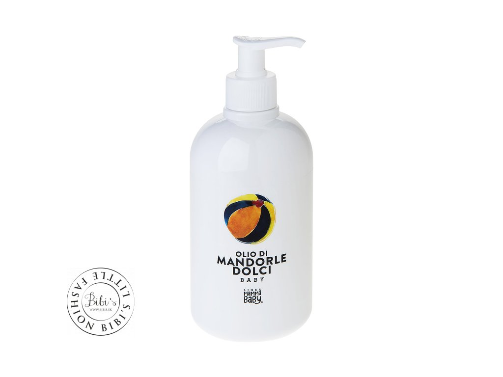 linea mamma baby linea mamma baby sweet almond oil 500ml body lotions and oils 5249