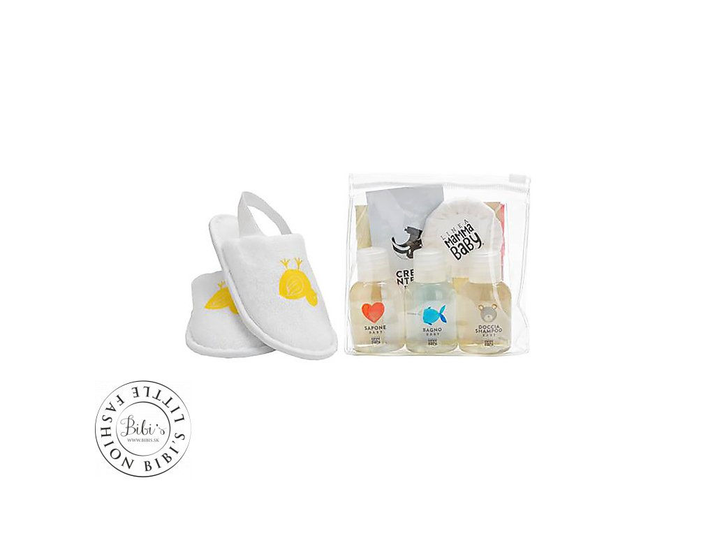 linea mamma baby courtesy line a selection of products in a clutch bag try them all kit toilette baby 26813