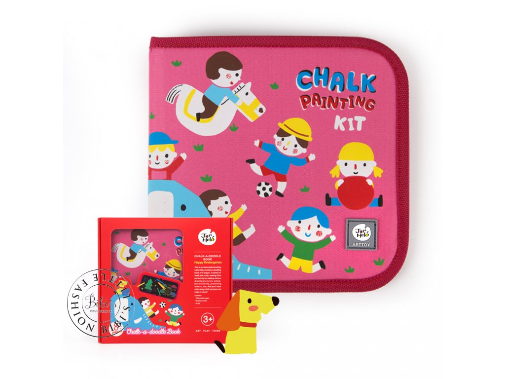 JA90701 Chalk paint doodling book 6