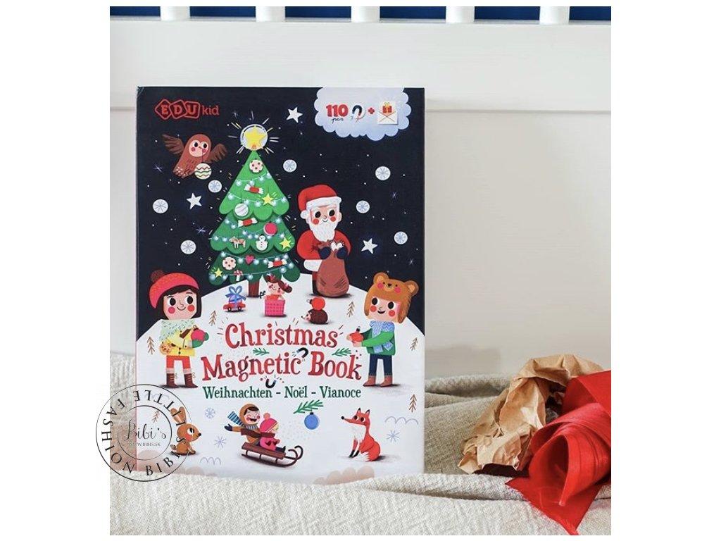 Magnetická kniha Vianoce