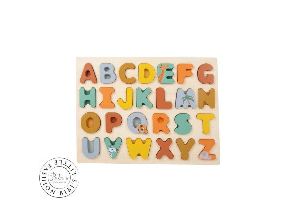 puzzle abeceda safari small foot by legler LE11703 01 500x500