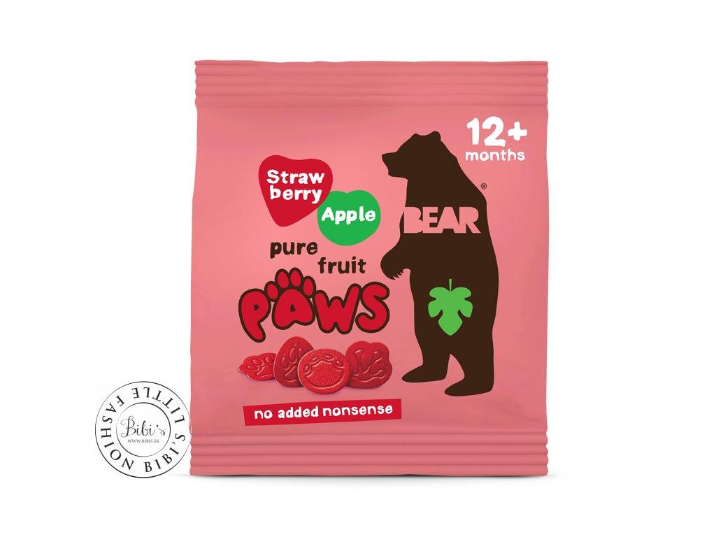 labky jahoda jablko single