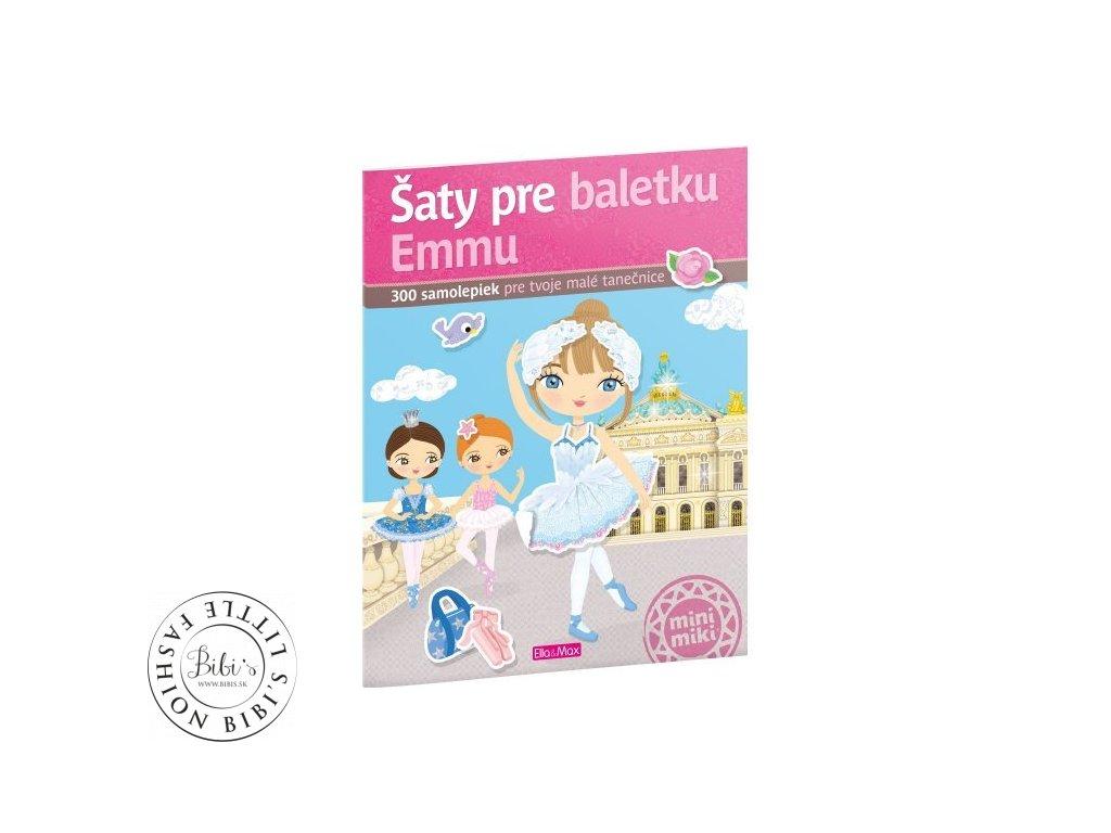 saty pre baletku emmu kniha samolepiek minimiki ella a max charlotte segond rabilloud a kolektiv 01 500x500
