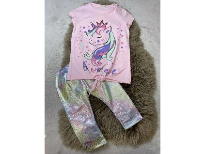 Unicorn tričko s lesk.legínami