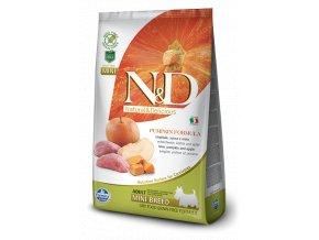 N&D GF Pumpkin DOG Adult Mini Boar & Apple -  balení 7kg  - Doprava Zdarma