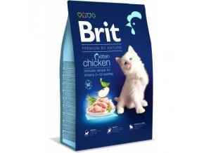 Brit Premium Cat Adult Salmon, Kitten -Novinka