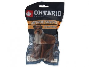 Snack ONTARIO Dog Rawhide Beef Fillets 12,5 cm (10ks)
