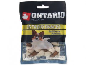 Snack ONTARIO Dog Rawhide Braided Stick Mix 7,5 cm (4ks)