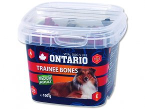 ONTARIO Snack Training Bones 100g