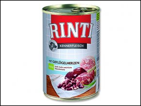 Konzerva RINTI drůbeží srdíčka (400g)