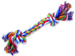 Uzel bavlněný barevný 2 uzle 20cm