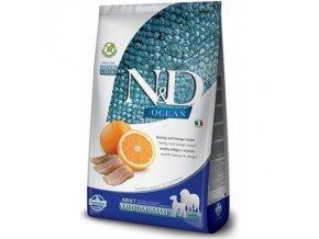 N&D Low Grain Dog Adult M/L Codfish & Orange 12 kg  - DPD Doprava Zdarma