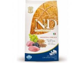 N&D Low Grain DOG Adult Maxi Lamb & Blueberry 2,5kg