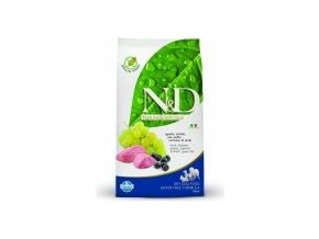 N&D Grain Free DOG Adult Lamb & Blueberry M/L 12kg  -Doprava DPD Zdarma