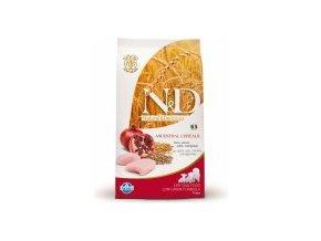 N&D Low Grain DOG Puppy Chicken & Pomegranate M/L 12kg  - In Time Doprava Zdarma, barel zdarma k 7kg a 12kg balení