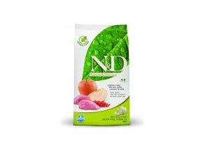 N&D Grain Free DOG Adult Boar & Apple M/L 12kg  - Doprava In Time Zdarma, barel zdarma k 7kg a 12kg balení