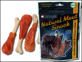ONTARIO Snack Chicken Jerky + Calcium 70g
