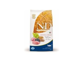 N&D Low Grain CAT Adult Lamb & Blueberry 5kg + Doprava Zdarma