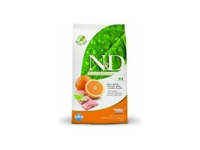 N&D Grain Free CAT Adult Fish & Orange 5kg + doprava DPD ZDARMA