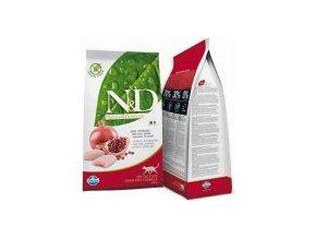 N&D Low Grain CAT Adult Chicken & Pomegranate 5kg + Doprava Zdarma