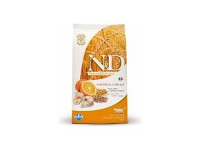 N&D Low Grain CAT Adult Codfish & Orange 5kg + Doprava Zdarma