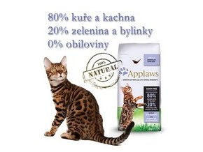 Applaws Cat Adult Chicken & Duck 7,5 kg + Doprava Zdarma DPD