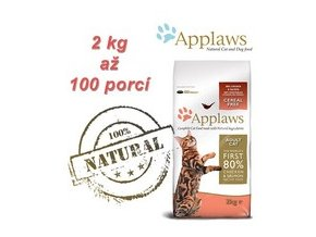 Applaws Adult Cat kuře+losos 2 kg