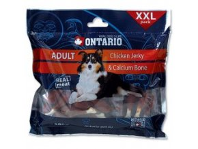 ONTARIO Snack Chicken Jerky + Calcium 500g