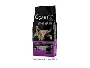 Optimanova dog Adult Medium - balení 12kg + DPD,InTime, Uloženka Zdarma