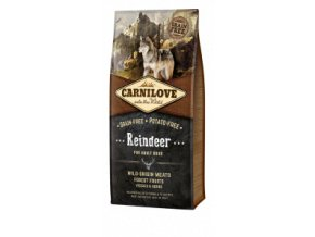 Carnilove Dog Reindeer for Adult NEW