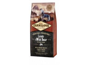 Carnilove Dog Lamb & Wild Boar for Adult NEW