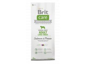 Brit Care Dog Grain-free Adult LB Salmon & Potato 12+2kg zdarma
