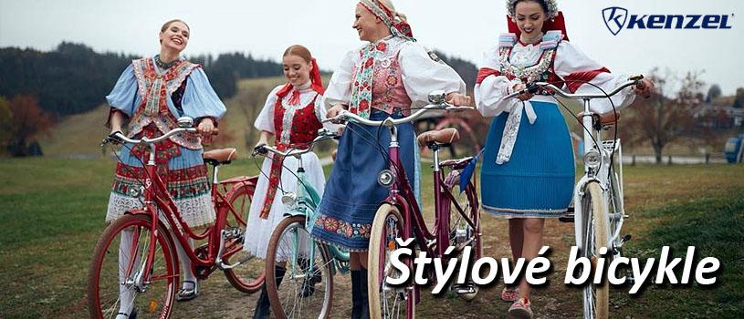 KENZEL štýlové bicykle